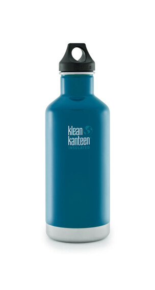 Klean Kanteen Classic Insulated Trinkflasche mit Loop Cap 946ml winter lake